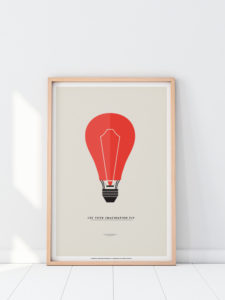 deco minimalism minimal poster print fly letyourimaginationfly