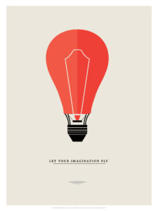 deco minimalism minimal poster print toaster letyourimaginationfly