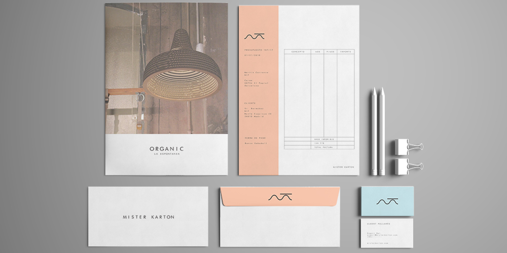 sr bermudez stationery design